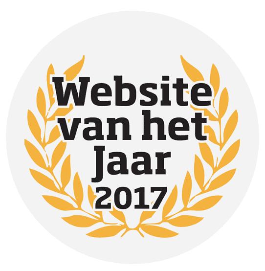 website van het jaar verkiezing 2017