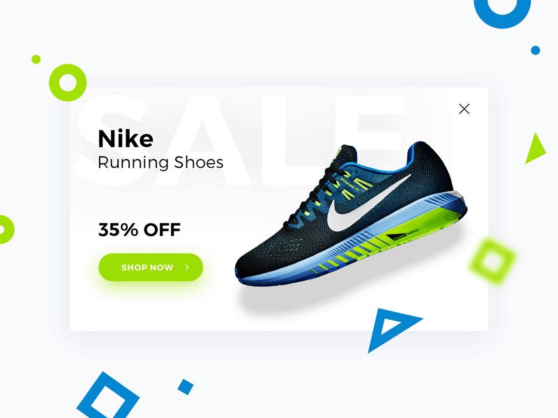 Nike offer pop-up