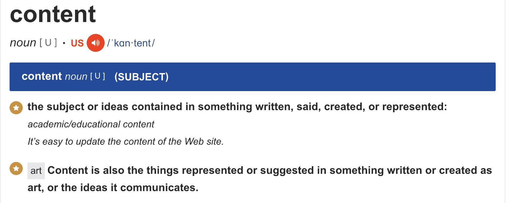 Content marketing definitie