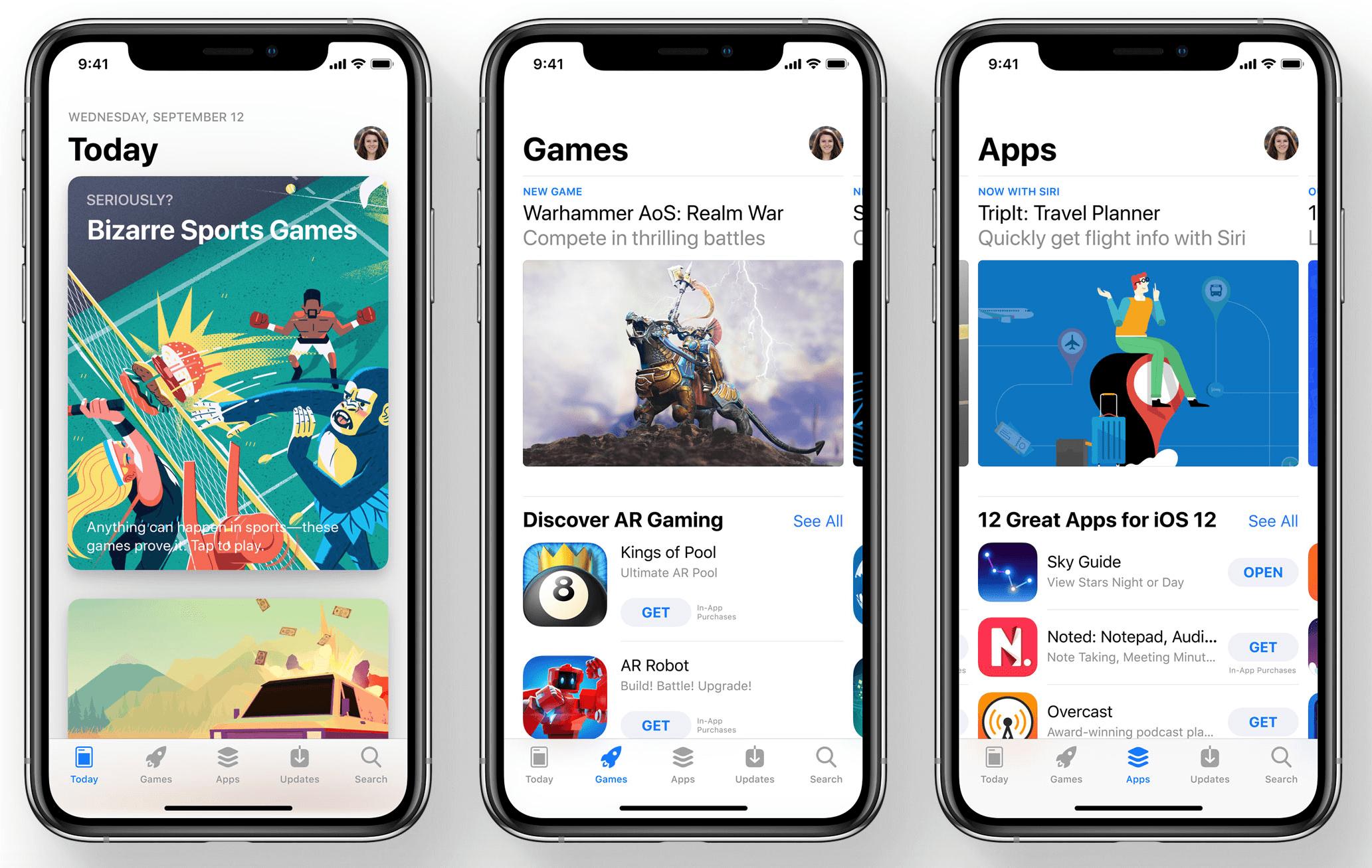 Marketing partner: App Store