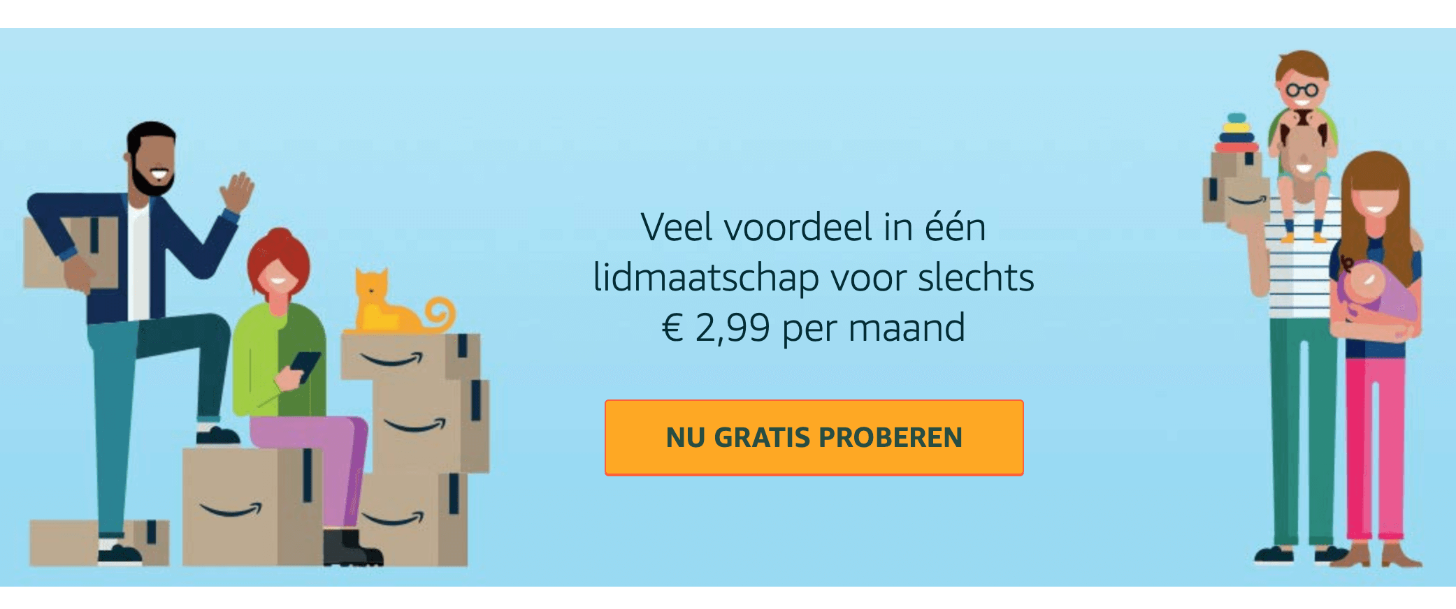 Amazon Prime Klanttevredenheid