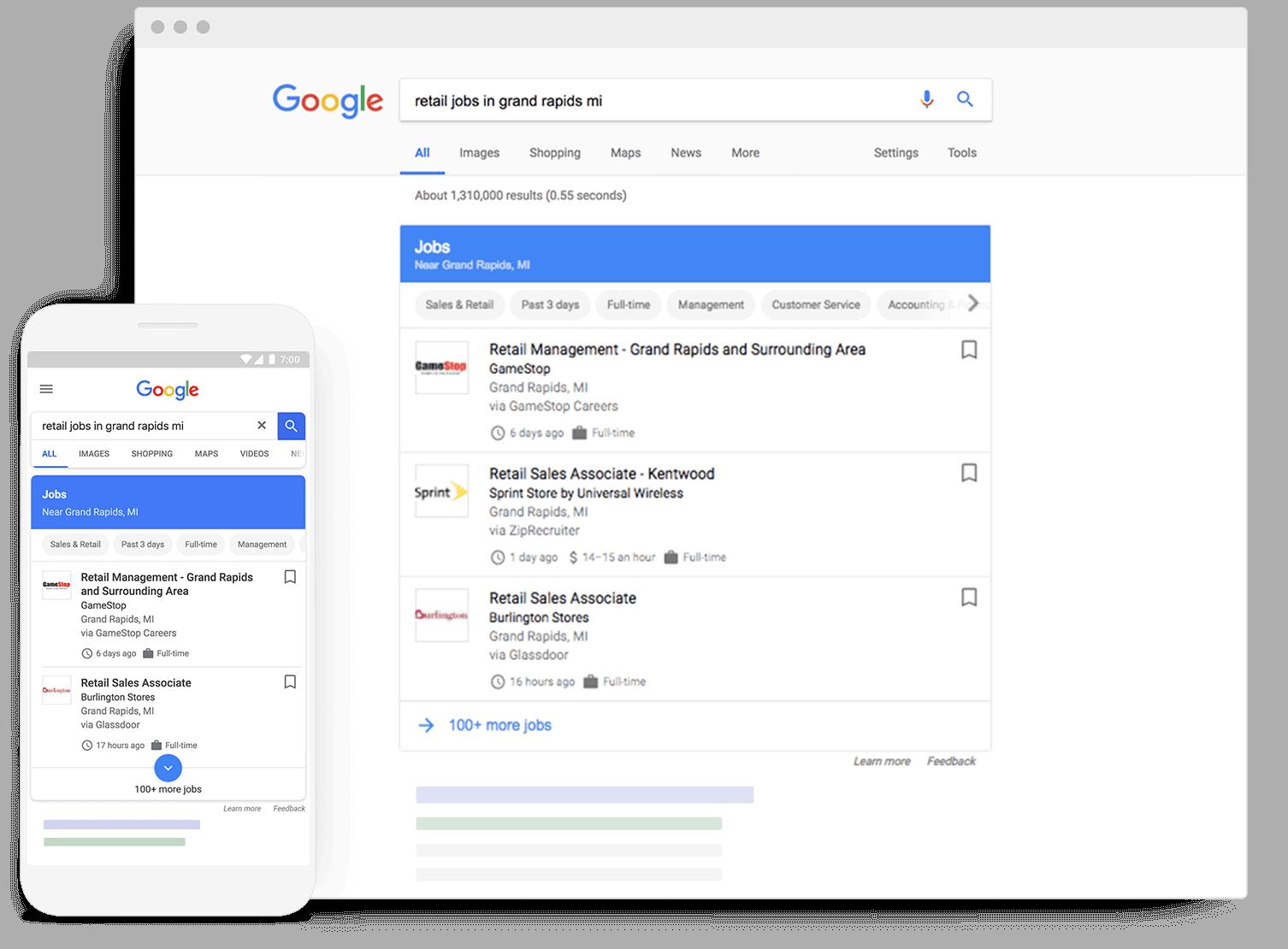 Google Vacatures