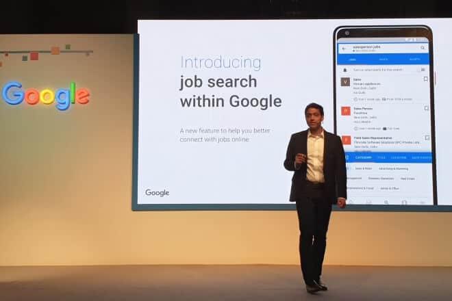 Google Jobs lancering